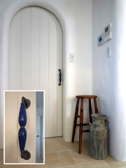 フランス製ドア用アンティーク取手