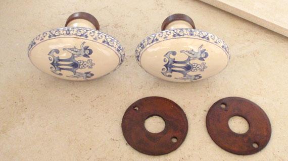 フランス製ドアノブ