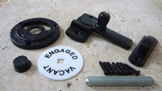 丸型アンティークタイプ表示錠(鉄)