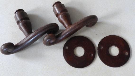 フランス製ドアノブ(様々な形状)
