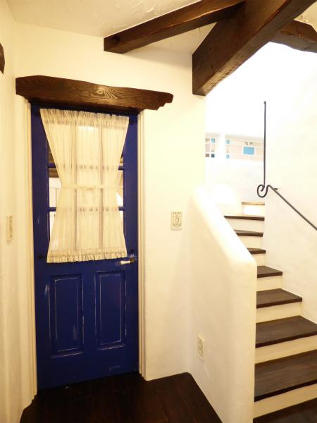 南仏プロヴァンスの家・階段室