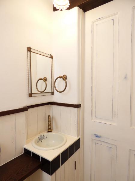 南仏プロヴァンスの家・トイレ