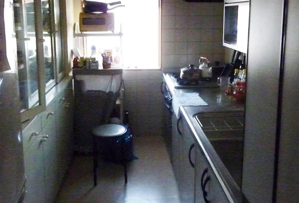 キッチンをヨーロピアンカントリーにリフォーム・リフォーム前