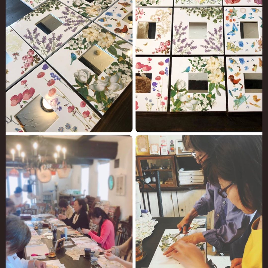 2nd Decoupage Workshop