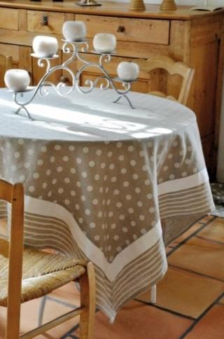 フランス・STOF社のテーブルクロス